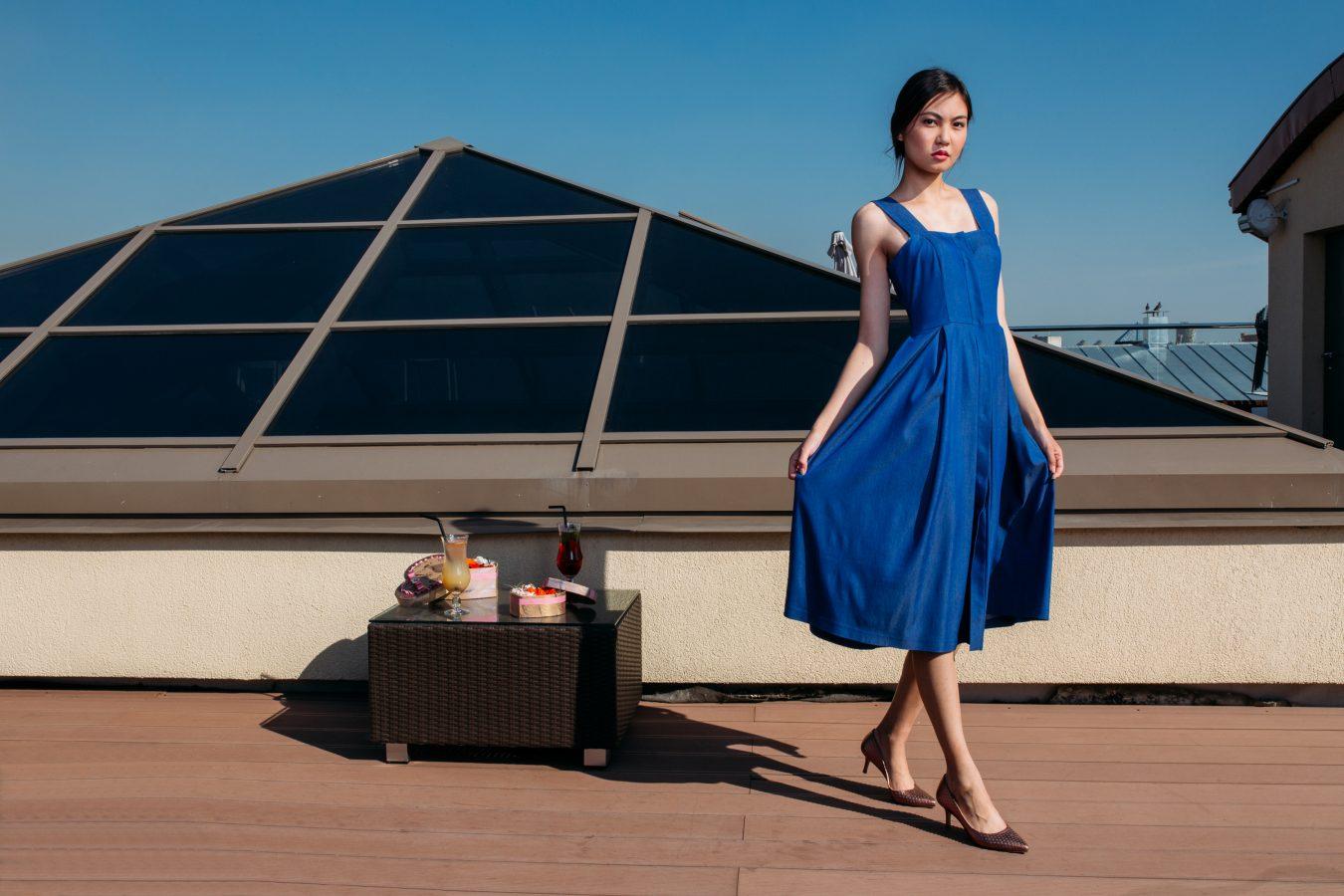 Платье-Rose