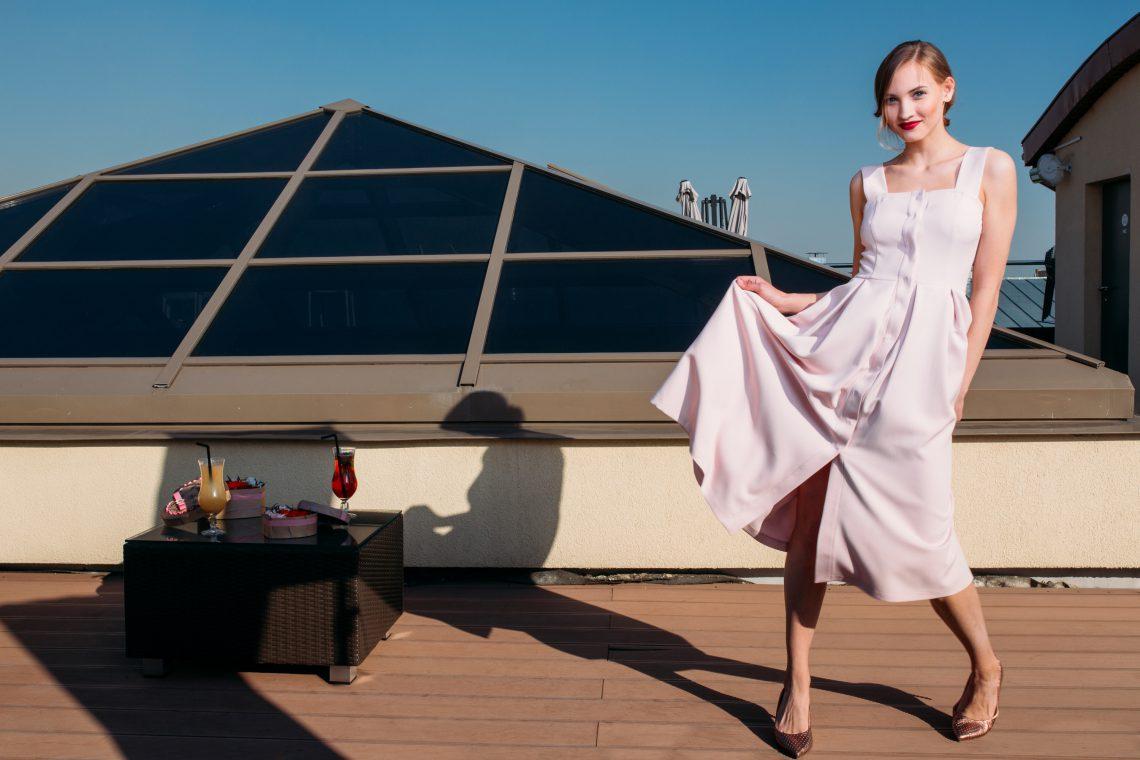 Платье- Rose