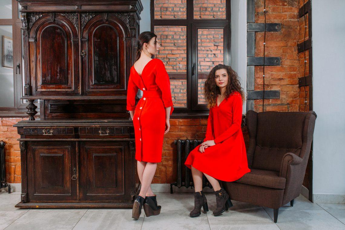 Слева направо: 1.Платье-ALLISON 2.Платье-ALOISE